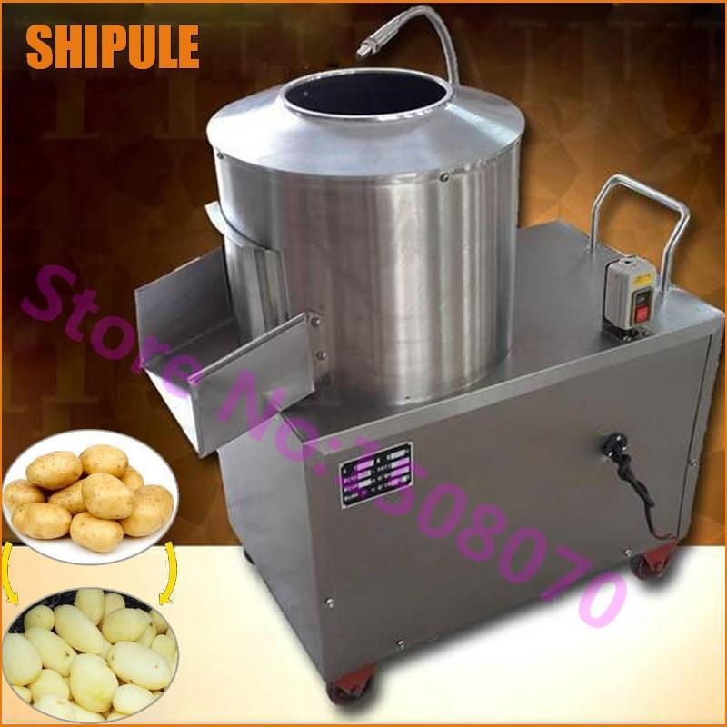 SHIPULE 2018 trend ürünleri 150-220 kg / saat endüstriyel patates soyma makinesi / satılık elektrikli patates soyma makinesi