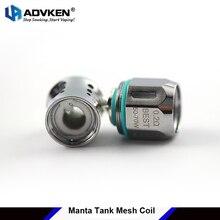 5pz/lotto originale Advken Manta serbatoio Mesh Coil 0.2ohm 0.16ohm teste core per NRG tank coil pro