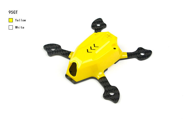 95GT/ 110GT Frame KIT Body Frame FPV Racer Mini Drone Quadcopter Parts for 1103/1105  Mini Brushless Motor 1105 8500kv mini brushless motor for 110gt fpv racer mini 4 axis aircraft rc drone quadcopter