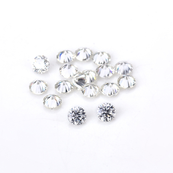 High Quality EF Clear White Color Round 1.5mm brilliant cut Lab Created Moissanites stone beads for jewelry making