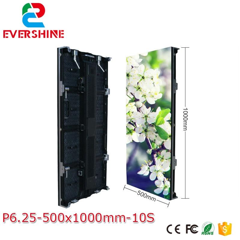 Xarici P6.25mm Tam Rəngli İcarə Mərhələ Ekranı LED Ekran - LED işıqlandırma - Fotoqrafiya 2