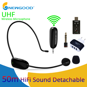Microphone UHF Wireless Microp
