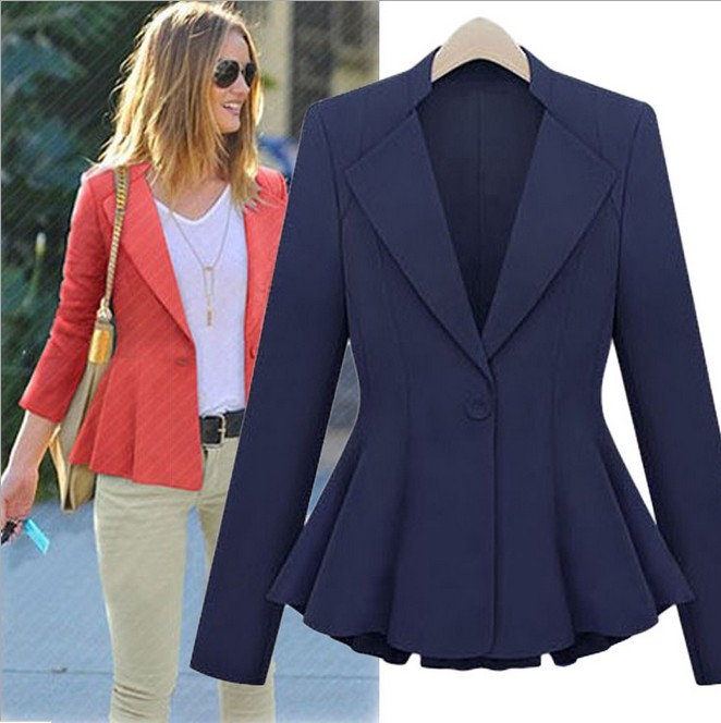 Online Shop women's suits red blazer,womens blazers 2013,womens