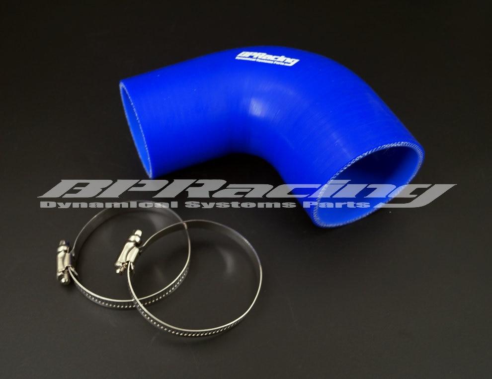 102mm a 63mm/76mm/80mm/89mm silicona 90 grados codo reductor manguera/4