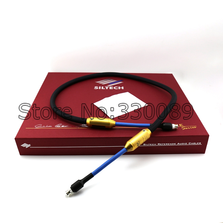 Free shipping SILTECH GOLDEN EAGLE II 75 ohm Digital Audio Cable HIFI XLR Digital Coaxial Cable original box golden eagle ii 75 ohm digital audio cable hifi xlr digital coaxial cable original box