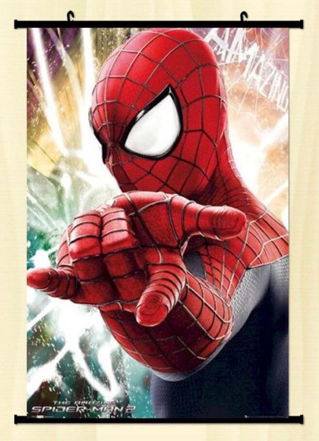 Us 5 98 Amazing Spider Man 2 Portrait Movie Poster Andrew Garfield Spiderman Anime Poster Home Decoration 60x90cm In Painting Calligraphy From