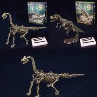 Dinosaur Archaeological Excavation Toy 3D Skeleton DIY Children Kids Educational Intelligence Model Games Adult Jigsaw Puzzles