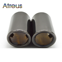 Atreus Car Stainless Steel Exhaust Tip Muffler Pipe For Volkswagen Passat B7 VW CC Accessories For