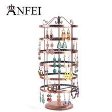Envío gratis exhibición de la joyería soporte de exhibición de la joyería titular de rack organizador de la joyería titular pendiente total de 288 agujeros