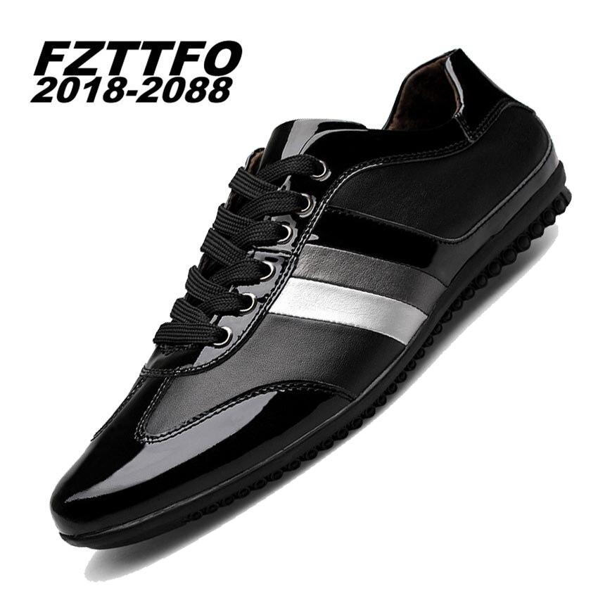 100% Hecho A Mano de Cuero Genuino de Conducción Zapatos de los hombres, Nuevos