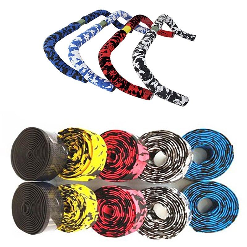 Bicycle Handlebar Tape Camouflagebelt 2M Bike Non-Slip Straps Cycling Handle Belt With Badminton Racket Tennis Racket Strap