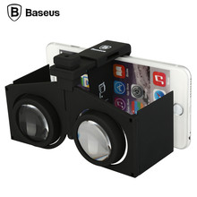 BASEUS Dreamland VR Virsual HD Glasses Digital Smart Mobile Phones Glasses 3D Movies Games with Resin + ABS for iOS for Android