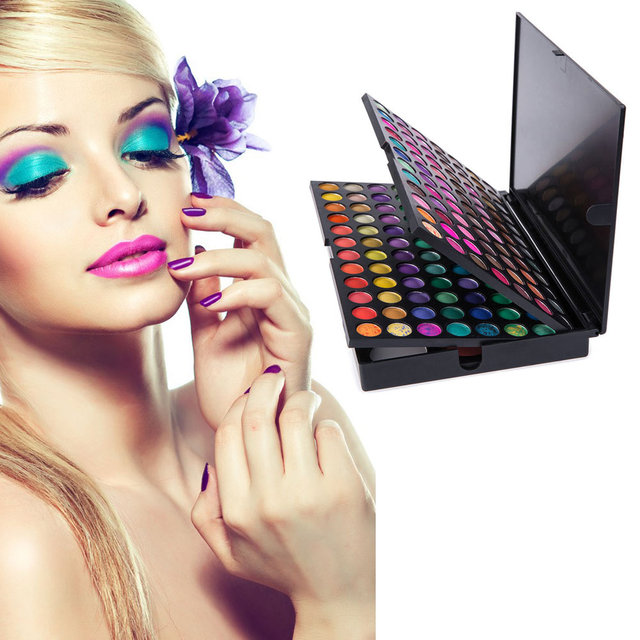 183 Colors Eye Shadow Combo 3 Layers Makeup Palette Kit 168