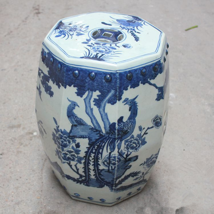 Surprising Us 299 0 Jingdezhen Ceramic Toilet Stool Garden Porcelain Chinese Garden Stools Bathroom Blue And White Home Ceramic Oriental Stool In Stools Theyellowbook Wood Chair Design Ideas Theyellowbookinfo