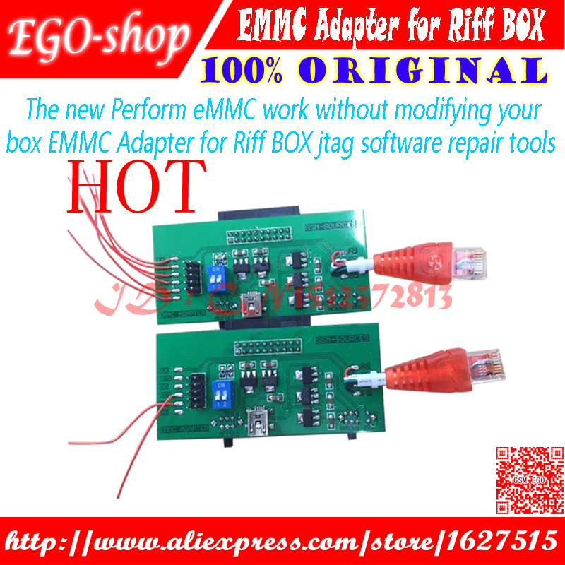 Communication Equipments 2017 New Perform Emmc Work Without Modifying Your Box Emmc Adapter For Riff Box Jtag Software Repair Tools Back To Search Resultscellphones & Telecommunications