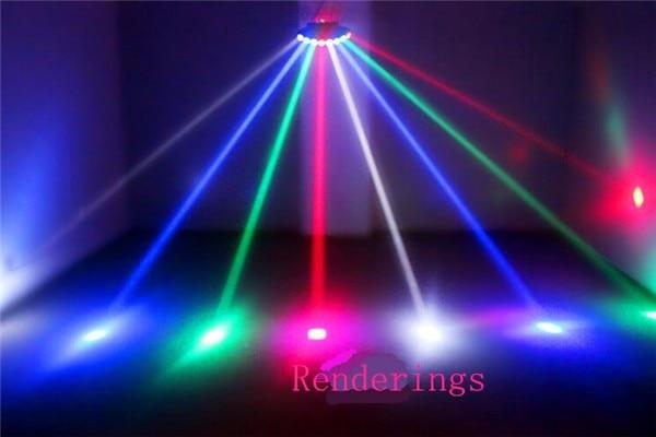 Сканер Восемь глаз светодиодный яркий CREE сканирование луча сценический эффект светильник/восьмиглазый четырехлучевой Бар Диско вечерние светильник efeito de luz