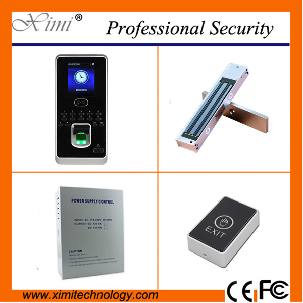ZK New firmware free sdk face and fingerprint access control 400 face user tcp/ip biometric access comtrol kit biometric fingerprint access controller tcp ip fingerprint door access control reader