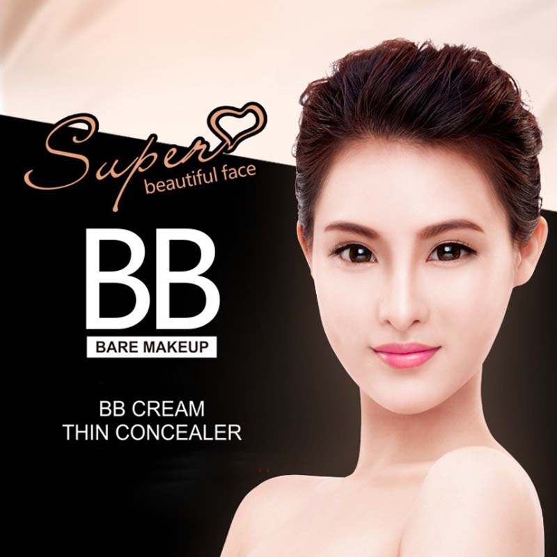 Long-lasting Oil-control BB Cream Concealer Moisturizing Foundation Makeup Bare Strong Whitening Face Beauty Makeup Air Cushion