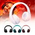 HY-811 Bluetooth Estéreo Sem Fio do Fone de ouvido Dobrável Com Microfone de Áudio fone de Ouvido Para MP3 Player de Rádio FM Estéreo