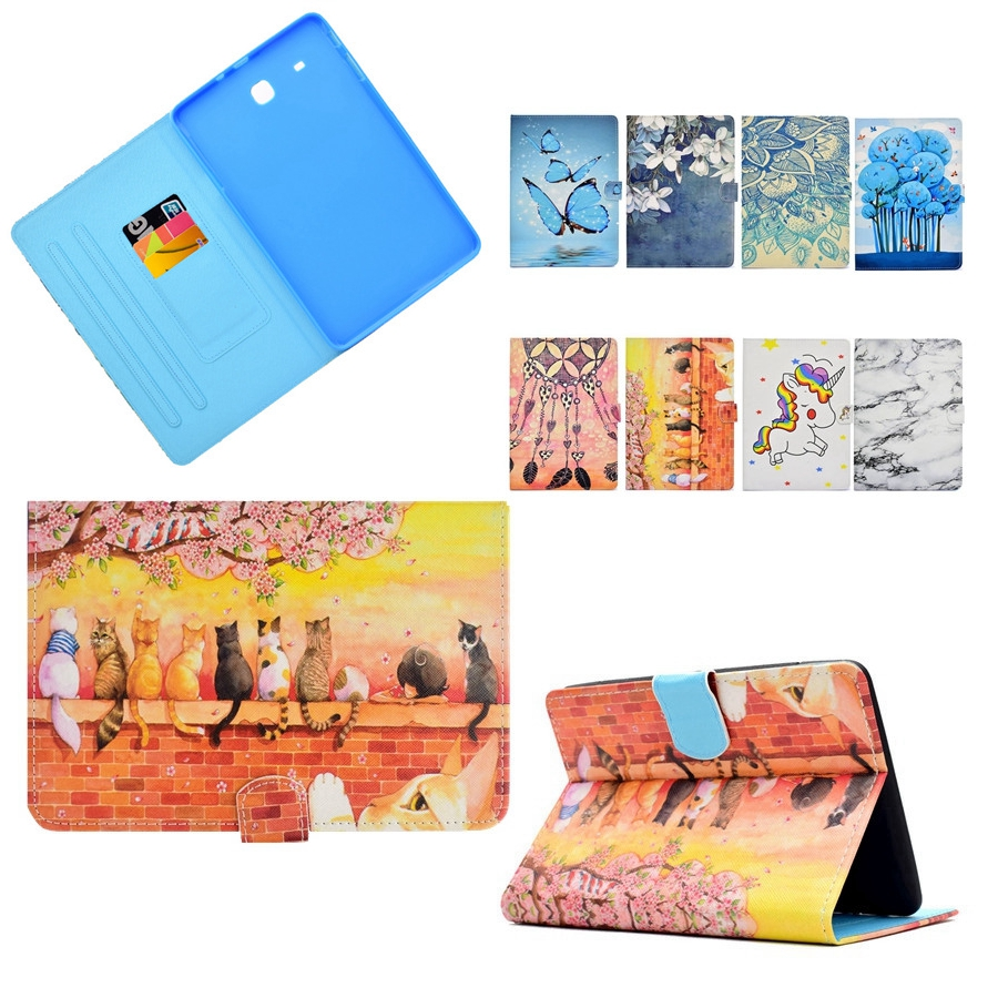 Misolocat for Samsung Galaxy Tab A 8.0 (2015) T350 Case Stand Flip Cover Magnet Funda Tablet PU Leather Capa Coque Auto Sleep