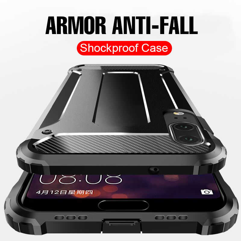 Luxury Armor Shockproof Ring Case For Huawei Honor 10 9 P20 Mate 20 Lite Phone Case On The For Huawei Mate 20 P20 Pro Case Cover