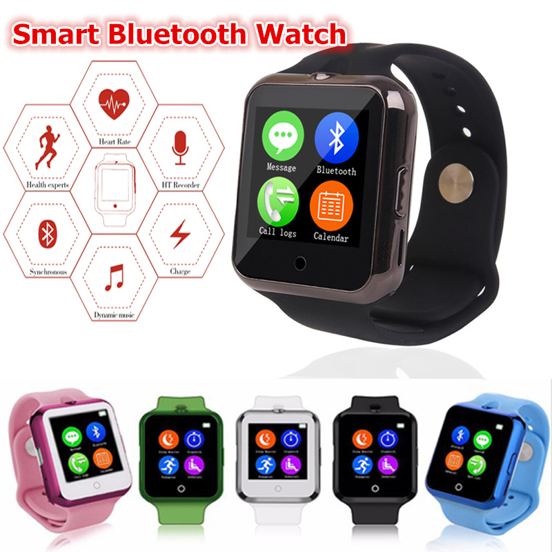 Bluetooth Smart Watch C88 D3 Sync Notifier Support SIM TF Card Multilanguage font b SmartWatch b