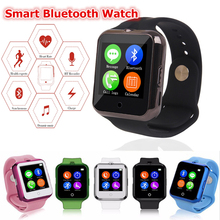 Bluetooth Smart Watch C88/D3 Sync Notifier Unterstützung SIM TF Karte Mehrsprachig SmartWatch Für IPhone IOS Android 0.3 MP Kamera