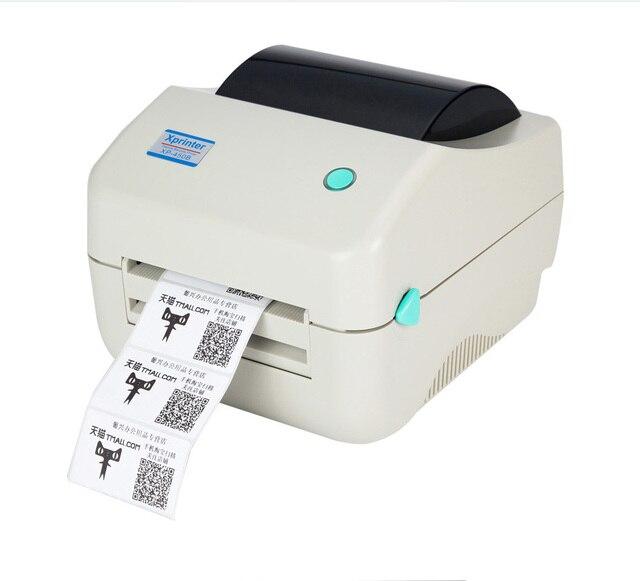 XP-450B 108 мм максимальная ширина Прямая Термопечать штрих qr-код наклейка принтер штрих-кода Тепловой этикетки принтер