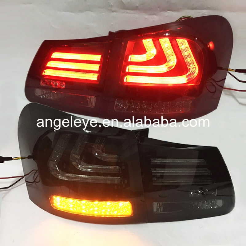 For <font><b>Lexus</b></font> <font><b>GS300</b></font> GS350 GS430 GS450 2006-2011 year Rear <font><b>Lights</b></font> LED <font><b>Tail</b></font> <font><b>light</b></font> Smoke Black Color SN image