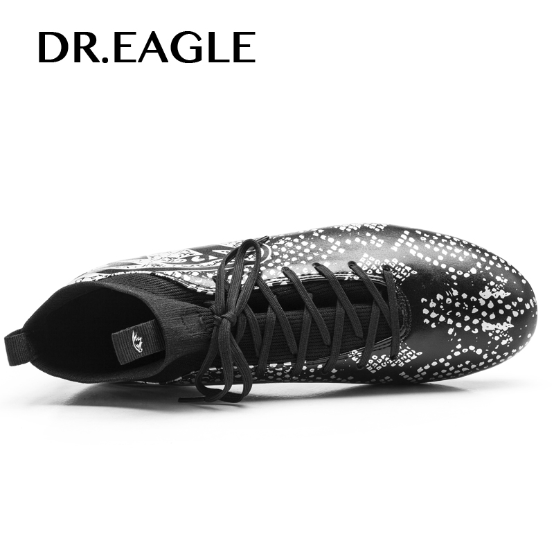 0e38e2ff5d6 Aliexpress.com   Buy Soccer Cleats For Men Football Boots Original Traning Football  Boots With Spikes Green Black Mens Outdoor Training Shoe from Reliable ...