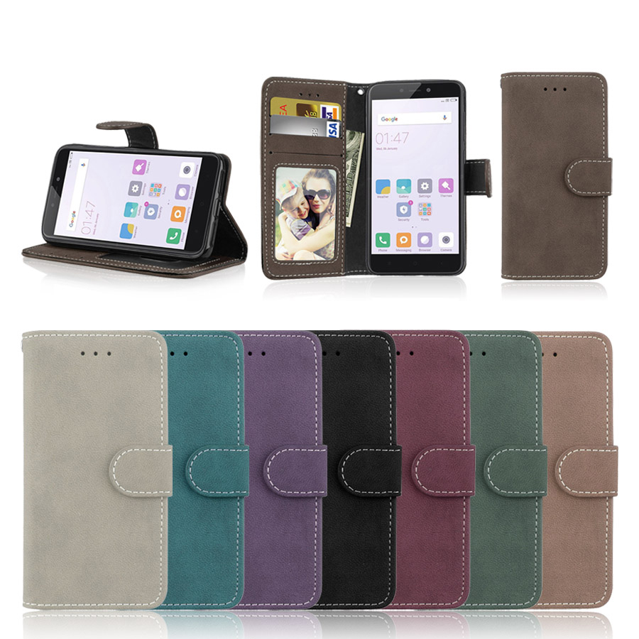 For Samsung A5 2015 Case with Stand Cover Case for Samsung <font><b>Galaxy</b></font> A500 <font><b>A500F</b></font> <font><b>SM</b></font>-<font><b>A500F</b></font> Leather Phone Case Wallet Flip Cover Bags image