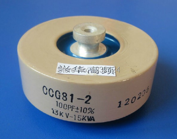 for CCG81-4U 800PF-K 25KV 90KVA high frequency voltage Ceramic Capacitor