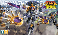 Bandai Danball Senki Plastic Model 017 LBX Nightmare Scale Model Free Shipping