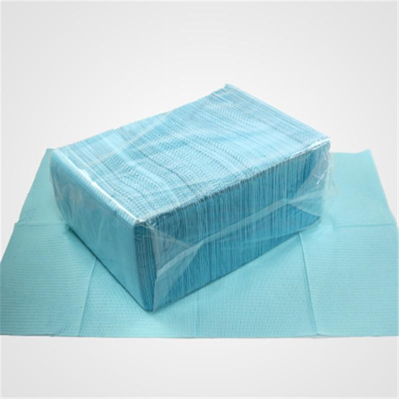 125 шт./лот одноразовые чистой Pad Underpad гигиены личные медицинские татуировки стол 45*33 см