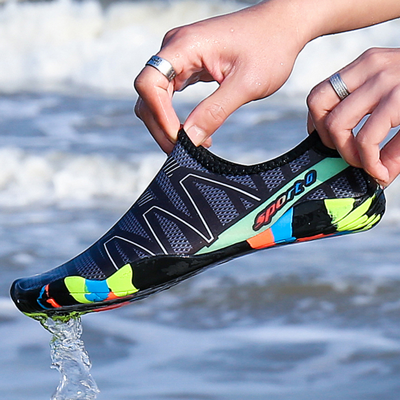 Men's Sneakers Swim Shoes Barefoot Shoes Women Sea Beach Surfing Water Sports Aqua Shoes Wading Footwear Casual Shoes