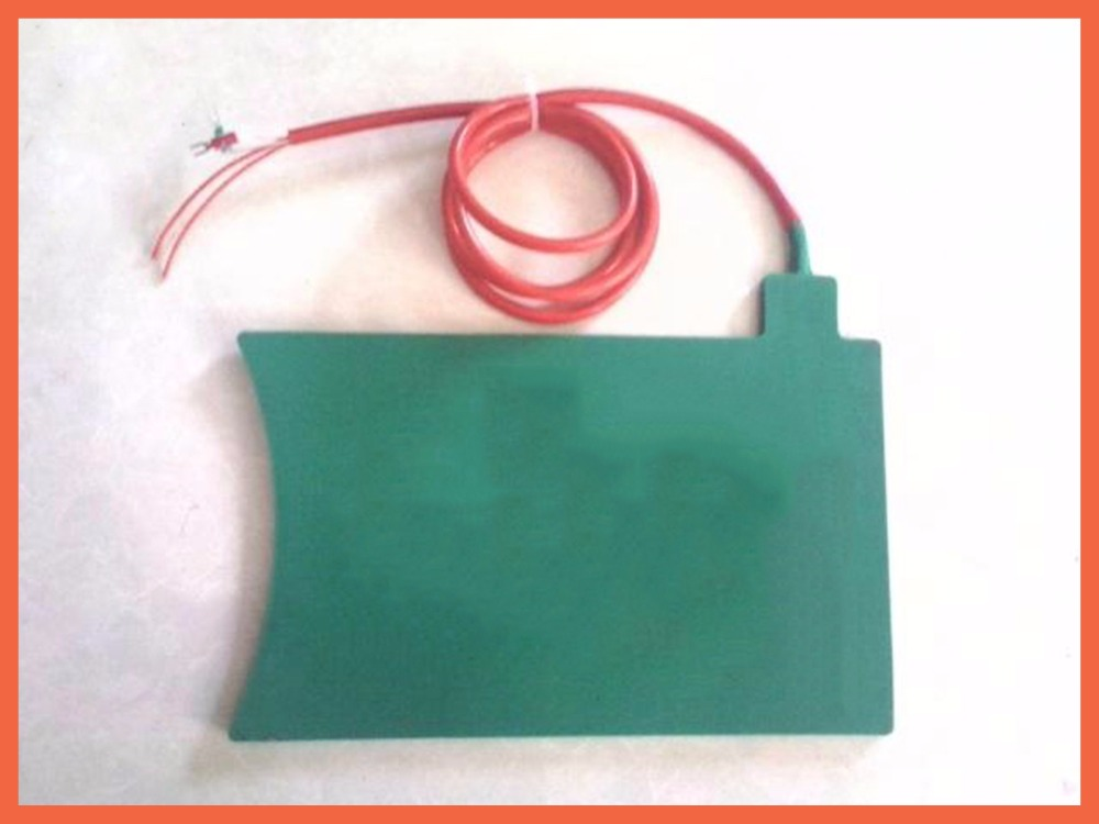 silicone heater flexible heat 350*350*10mm Tyre Repair Tire Heating Board 220V 500W K-Type Thermocouple silicone heating plate dia 400mm 900w 120v 3m ntc 100k round tank silicone heater huge 3d printer build plate heated bed electric heating plate element