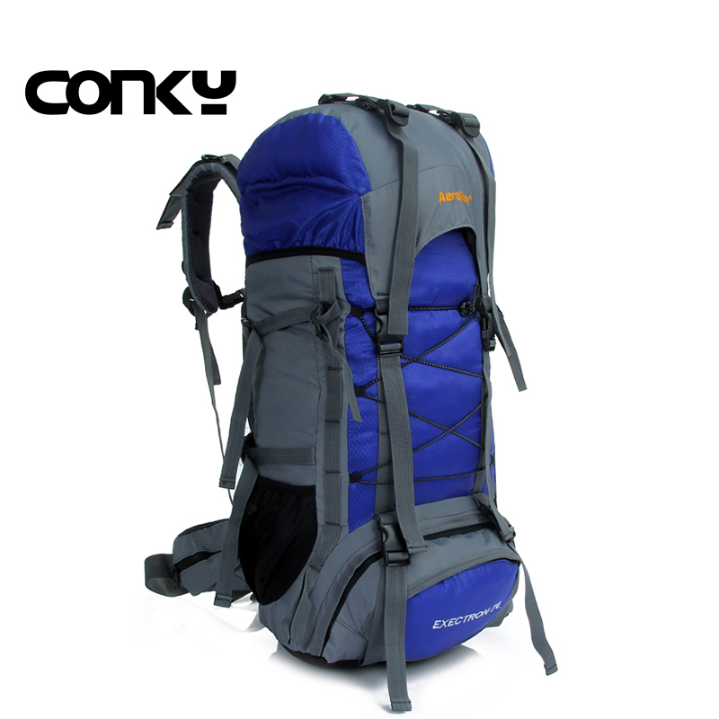 Large hiking camping backpack Outdoor sports bag Rucksack Mountaineering Bag waterproof nylon backpack Men's travel bags свечной двор свеча смайл