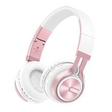 Stereo HiFi Headphones Rose Gold