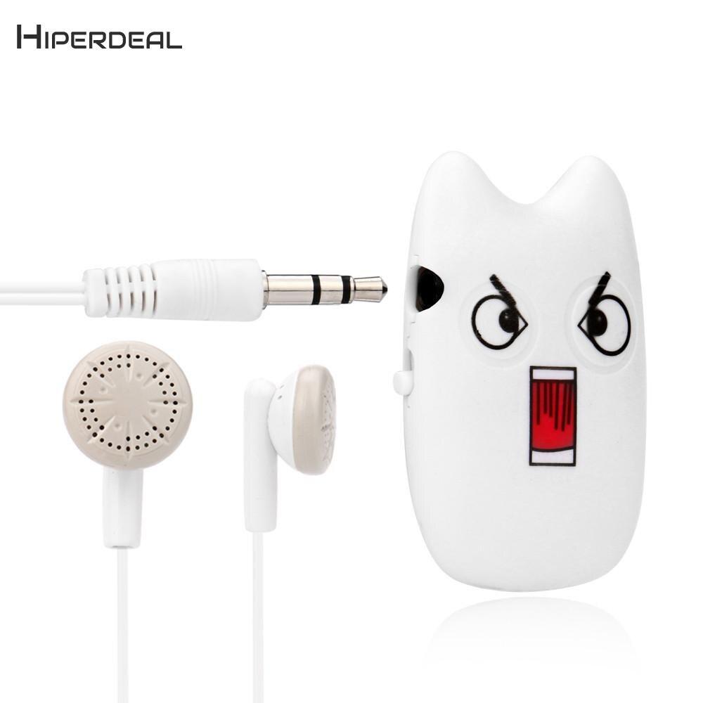 Hiperdeal Super Nette Usb Mini Mp3 Player Unterstützung 32 Gb Micro Sd Tf-karte Mit Kopfhörer Zubehör Gesichts Ausdruck Qiy26 Des HüBsch Und Bunt Unterhaltungselektronik