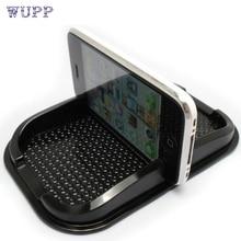 wupp Creative Design Black New Car Non Slip Sticky Auto Anti-Slip Dashboard Pad Mat Holder For Phone Top Quality PU Oct 27