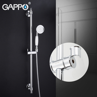 GAPPO shower faucet bathroom mixer bath tap rain shower system waterfall bath faucet wall mounted shower mixer taps Torneira