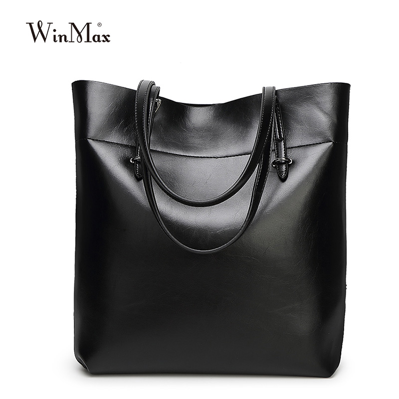Luxury Brand Women Leather Casual Tote Bag Big Capacity Handbag For Mom Solid Top Handle Female Shoulder Bag Mother Bucket Bag все цены