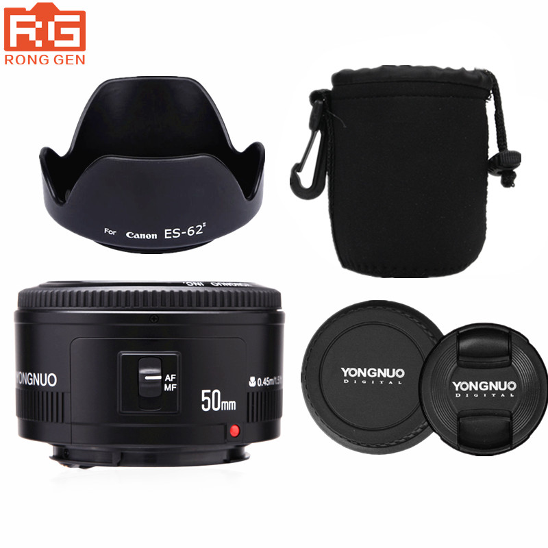 YONGNUO YN 50MM F1 8 Large Aperture Auto Focus Lens For Canon EF Mount EOS Camer