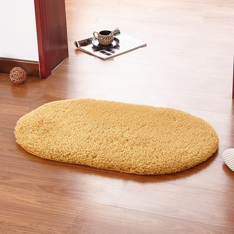 Valanorean 80x160cm Oval Rug Carpet Living Room Carpet