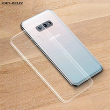 For Samsung S10 Case Clear Soft TPU Silicone Case for Samsung Galaxy S10 Plus Phone Back Cover For Galaxy S10e lite Coque Fundas(China)