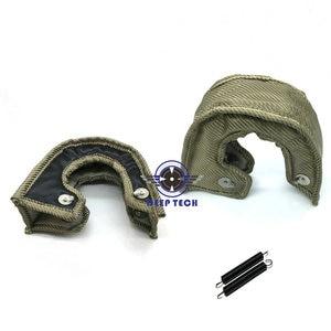 Image 2 - T3 TURBO HEAT BLANKET GARRETT TURBO BLANKET WITH STAINLESS STEEL MESH For T2  T25 T28  GT30, t35 Turbocharger