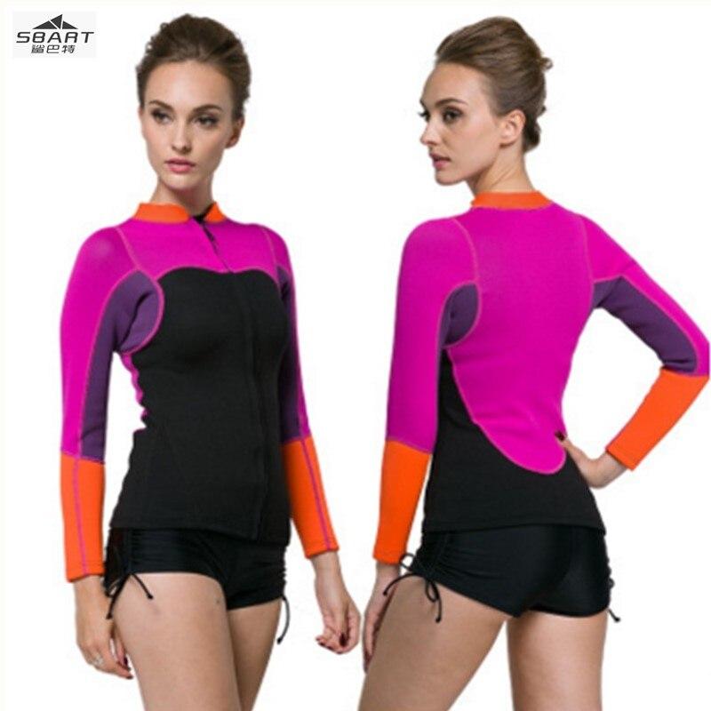 Sbart Pro 2mm néoprène plongée, plongée en apnée costumes vestes, hiver chaleur maillots de bain, UV50 + Anti-UV surf, combinaison complète body