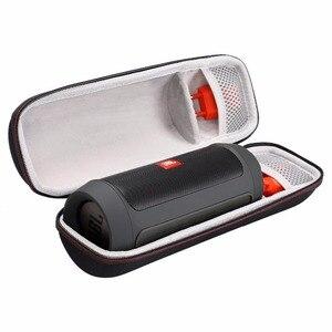 Image 2 - Caixa de eva protetora para viagem, caixa de proteção para jbl carga 2 + carregador plus bluetooth, alto falante rígido à prova de choque capa de armazenamento