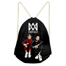 ThiKin Marcus And Martinus Drawstring Bag Children Backpacks for Teenager Girls Small Storage Bags Daily Backpack Mochila