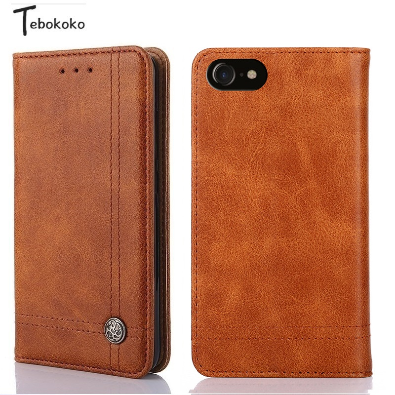 For iphone 6 s 6s 7 8 X Plus Case Soft Silicone Luxury PU Leather Wallet Holder Flip Case for iphone 7 8 Plus Cover Coque